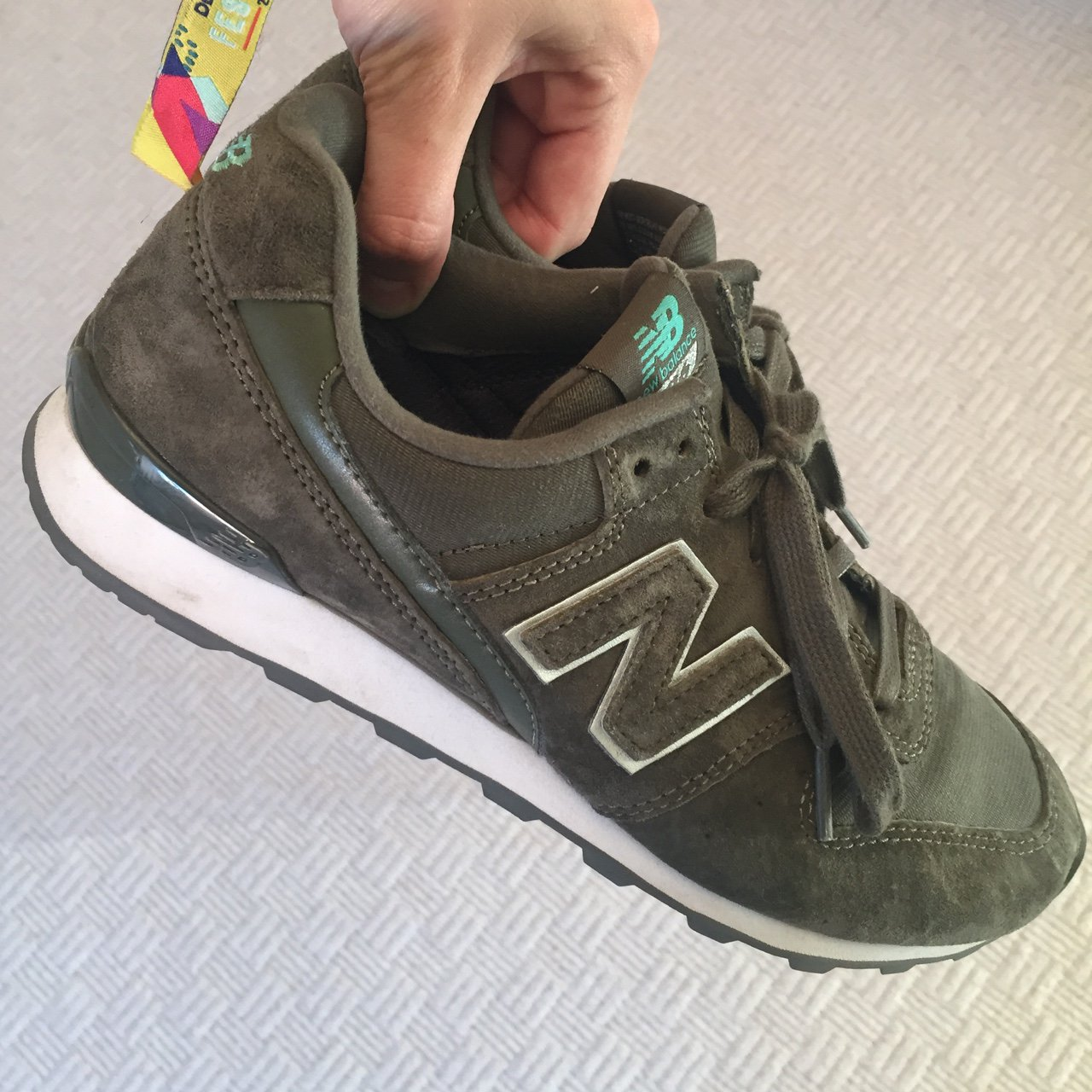 quality design c9658 3015d  milljohnson28. 2 years ago. Nottingham, UK. NEW BALANCE 996. Khaki green  ...