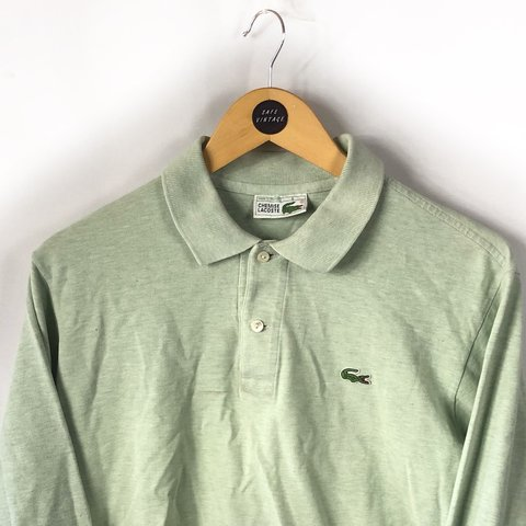 519ea9ae @safevintage. 10 months ago. Sheffield, United Kingdom. Vintage Lacoste  long sleeve polo shirt ...