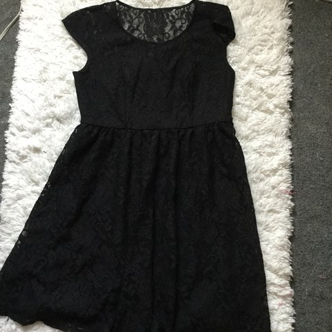 52adee5f688e @jellykinder. 2 years ago. Kings County, United States. Black lace dress  from lane Bryant.