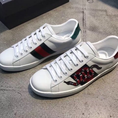 0dce1ef69a46 Authentic Gucci Ace embroidered sneakers. Sizes 6