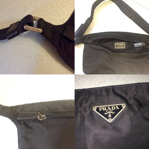 🔥 PRADA Nylon Waist  Bum Bag ((ON HOLD)) 👑 Retro unisex x - Depop d7314d8969533