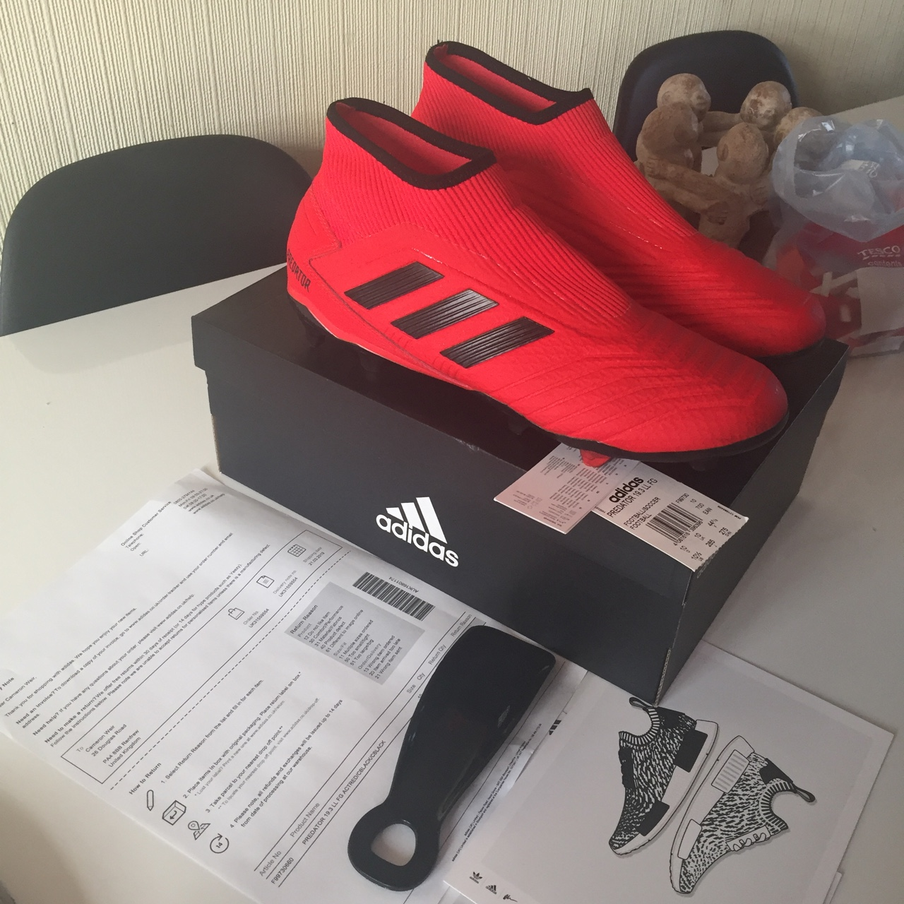 good looking good out x fashion style Adidas Predator 19.3 LL FG Laceless football boots... - Depop
