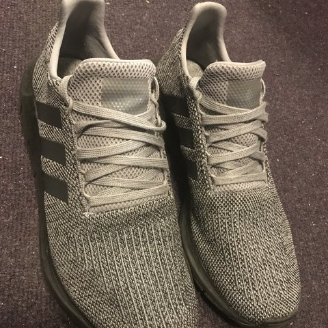 23a3eed7e8b63 SALE!!!! Adidas Swift Run Grey and Black trainers- as was - Depop