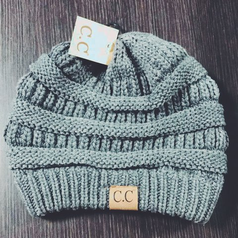 0a9a865b982 HELLO PEOPLE! 🌟 •Brand Name C.C Beanie!! •BRAND NEW! Tags - Depop