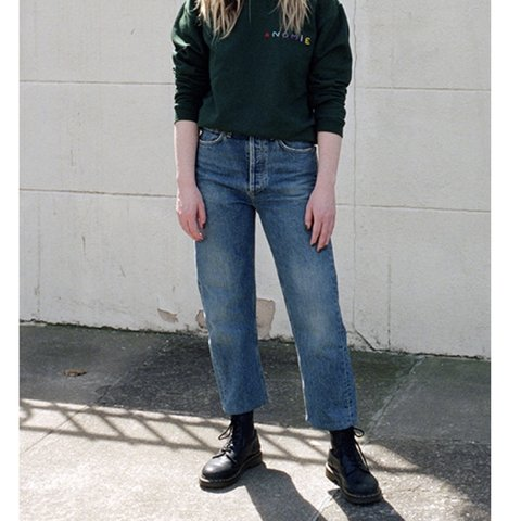 5634a102a518bc @chelseawears. 9 months ago. San Francisco, United States. AGOLDE 90s fit  denim ...