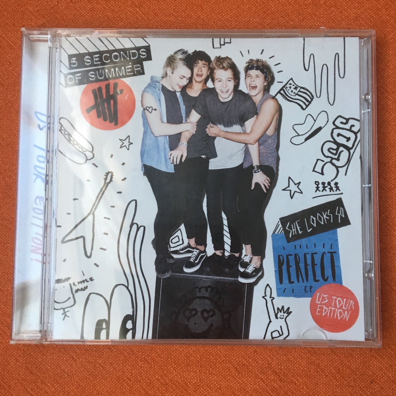 5 Seconds Of Summer She Looks So Perfect Ep Us Depop
