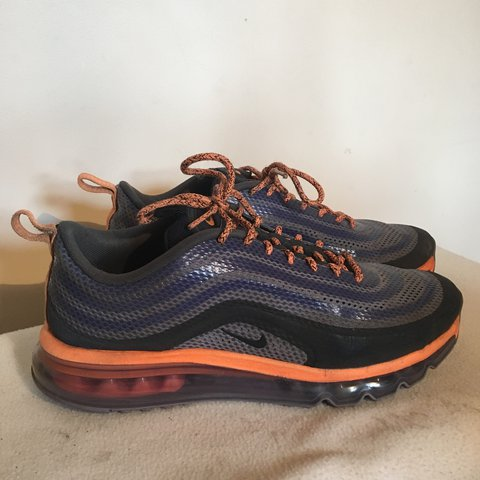 half off 689ae 29333 @campbellrobrien. 2 years ago. Belper, United Kingdom. Nike Air Max 97 Iron/ Purple Hyperfuse 2013.