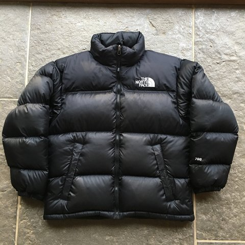 Black TNF The North Face Nuptse 700 Down Puffer Puffa Size - Depop 7c4794cdc