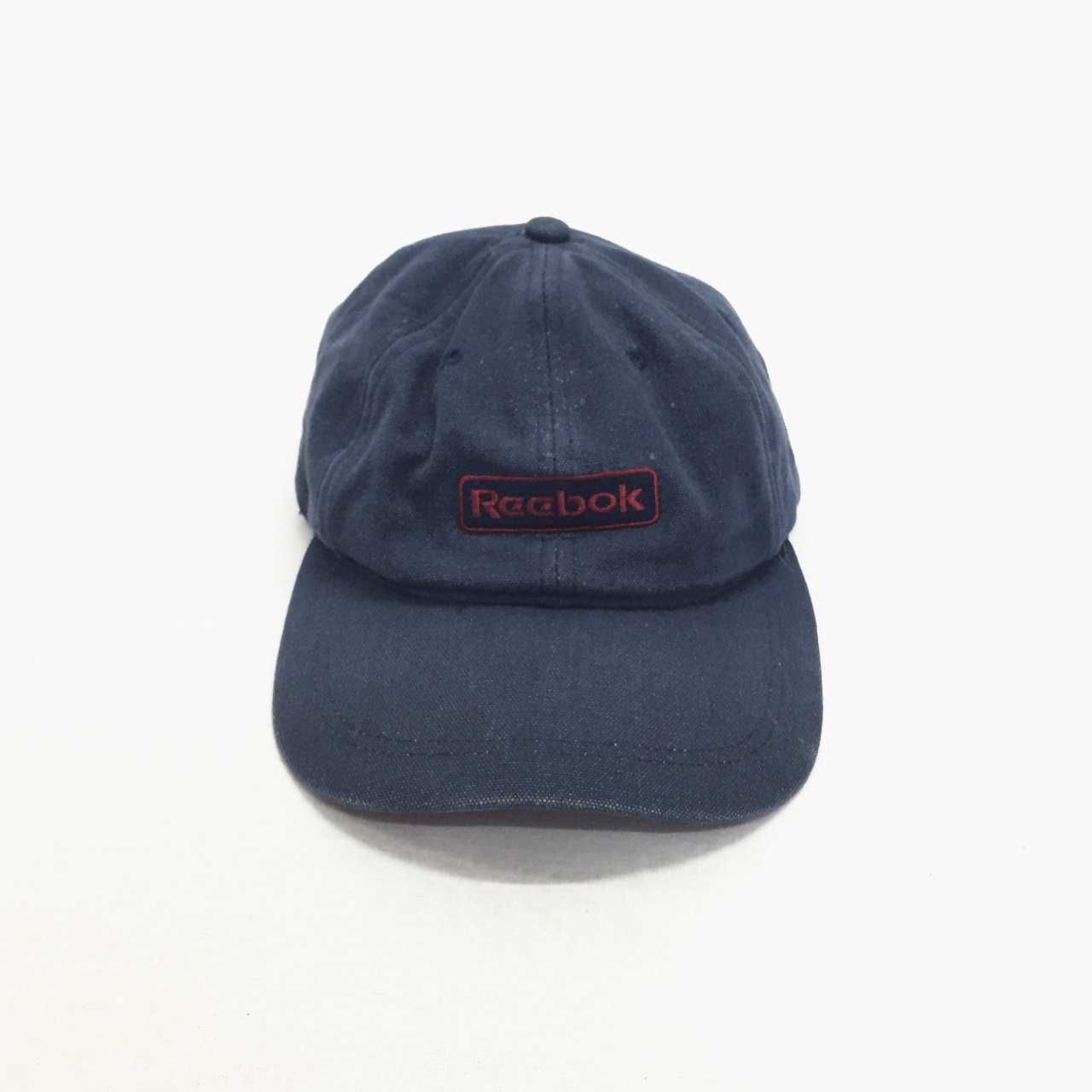 Vintage Reebok cap - navy blue men s hat urban outfitters - Depop 2795af4cd74