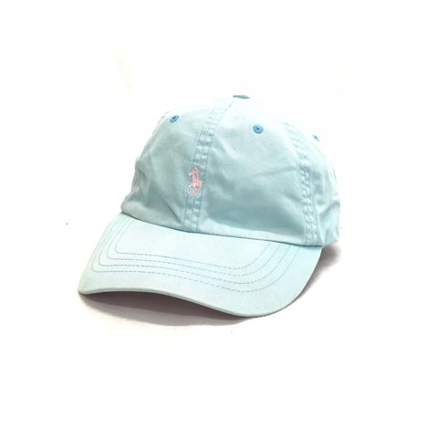 97b61938a3c Vintage Ralph Lauren cap with leather strap and buckle - and - Depop