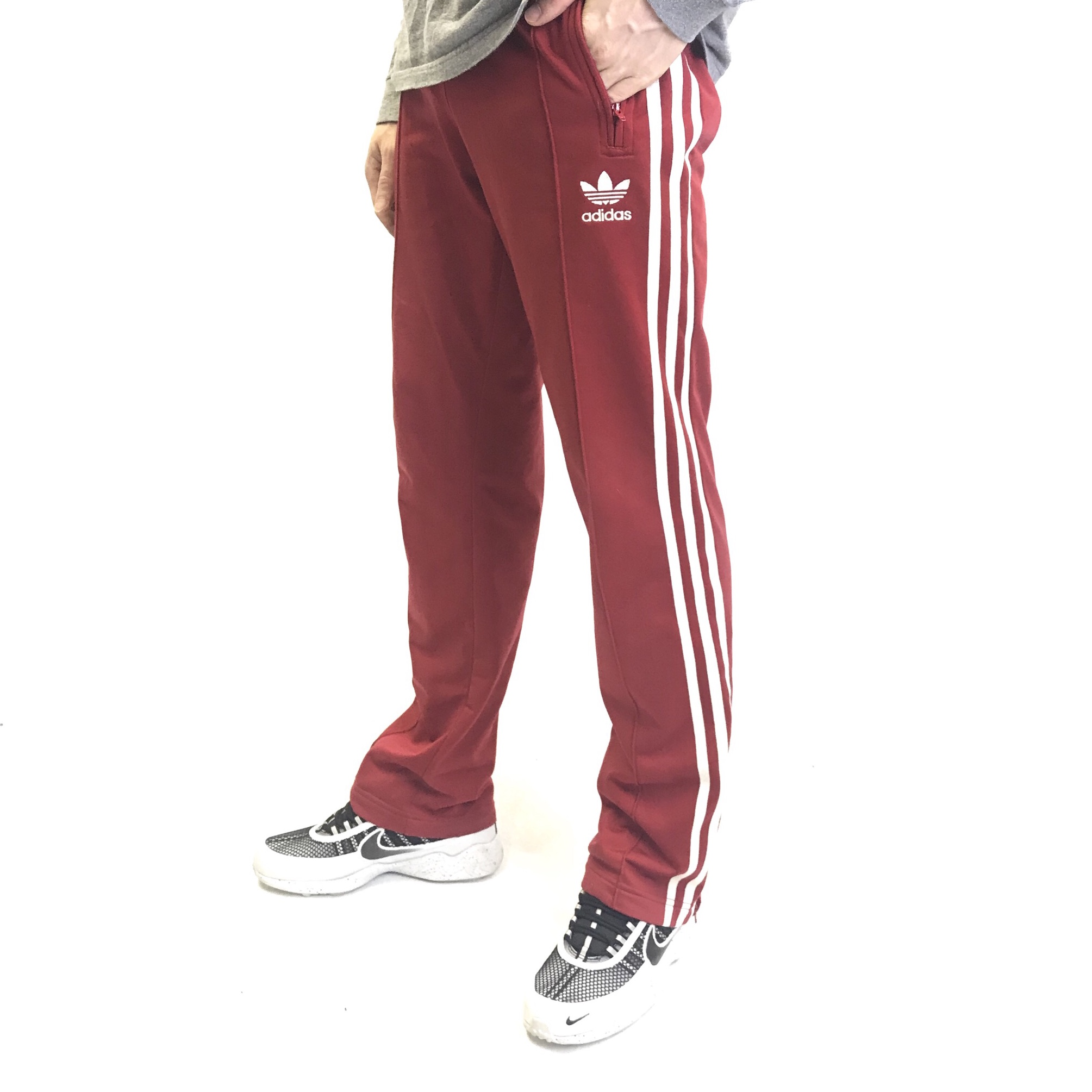 Vintage adidas track pants fit as a small to Depop