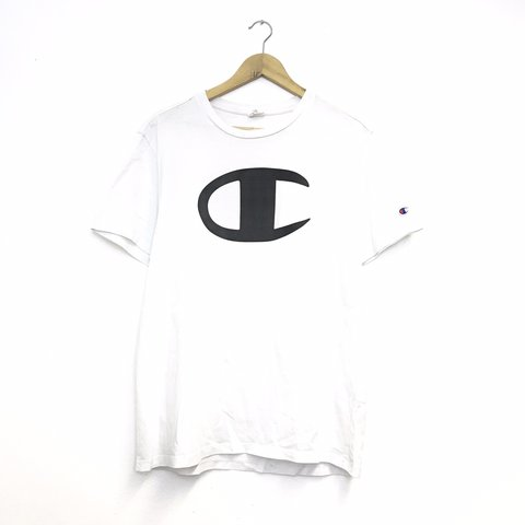 201d7ebf @atikvintage. in 8 hours. Darlington, United Kingdom. Vintage champion t  shirt - size medium - 90s big logo ...