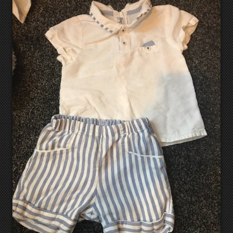 7198ee8b7 Mayoral baby boy Spanish outfit size 12 Months. Although it - Depop