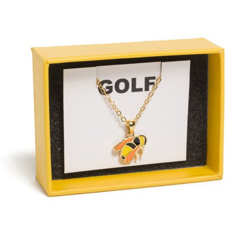 Sffb scum fuck flower boy bee necklace 16k tags golf le depop aloadofball Image collections