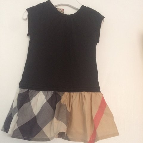 d057b8e81a057 @bow_bella03. last year. Essex, UK. Stunning baby girls burberry check dress  worn once age 6months