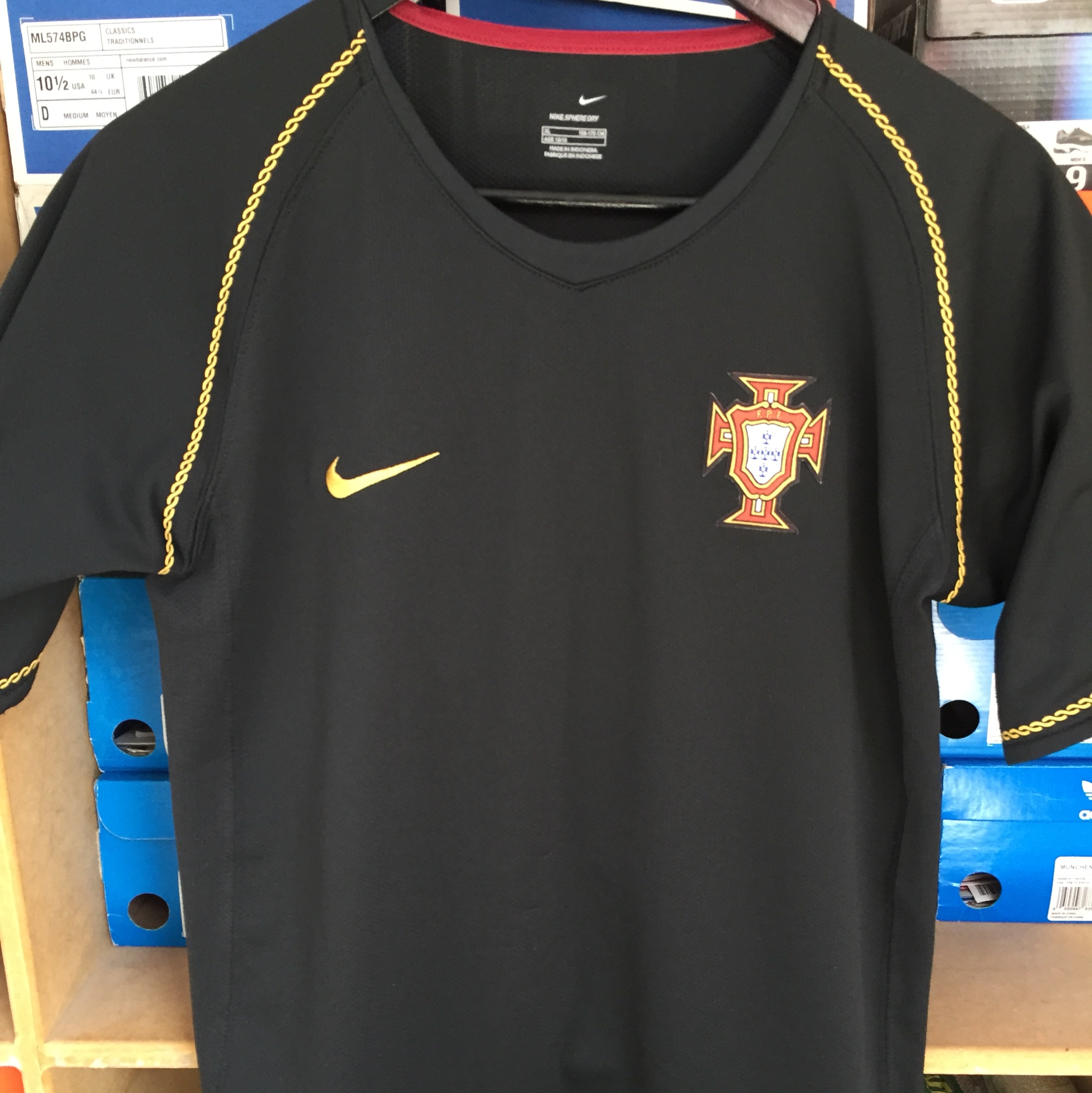 the latest 1fbe4 f5076 Cristiano Ronaldo, Portugal away Jersey from 2006 - Depop