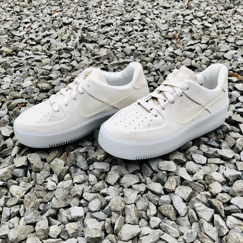 Nike Ice Grey Air Force 1 Sage Shoes