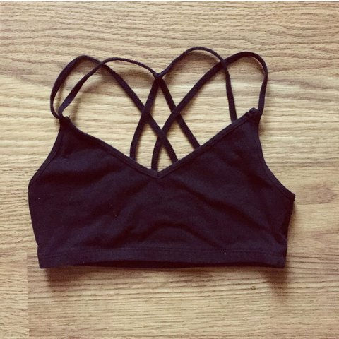 e081171524a2a2 A F Strappy Bralette cute abercrombie and fitch bralette to - Depop