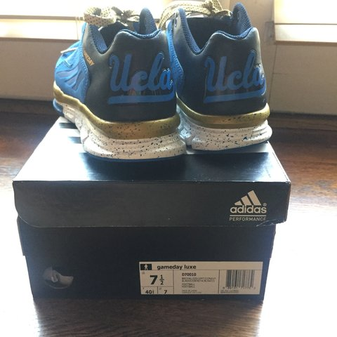 7cccb9738512a Adidas Limited Edition UCLA Game Day Luxe. NEVER WORN. size - Depop