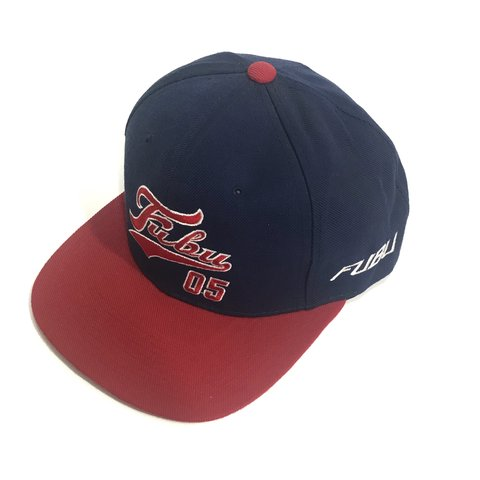 Vintage FUBU Snapback Hat Red Blue Good vintage condition - Depop e528577a08b