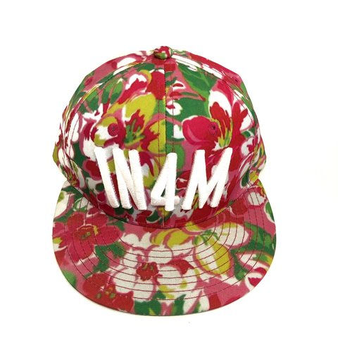 b18b10127ed68 In4mation Floral SnapBack Hat Hawaii Good condition all - Depop