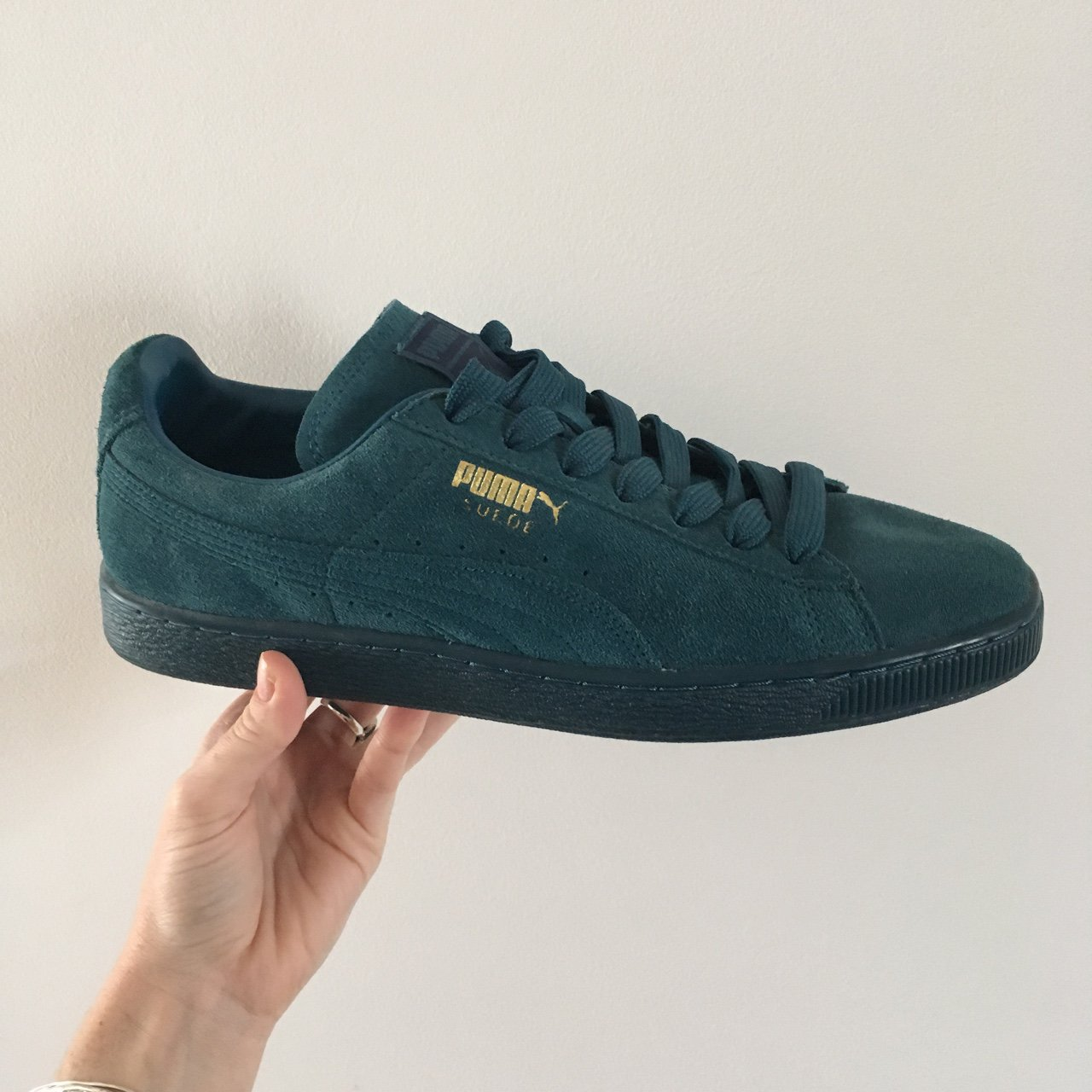 Puma suede iced teal size 11. Selling for my boyfriend 429f37cad