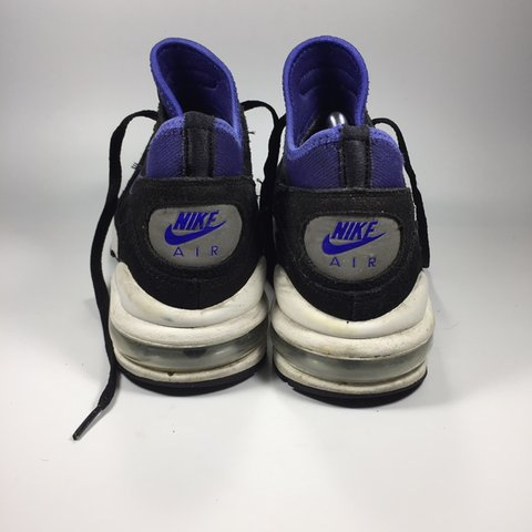 d4a0072ad678 Nike Air Max 93. Black Blue White. Very minor scuffs on in 8 - Depop