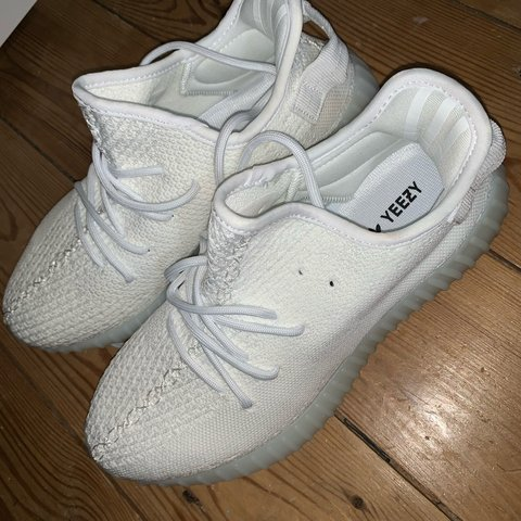 e0bd46805 White  yeezy boost  like trainers Size UK 6 6.5 Never worn - Depop