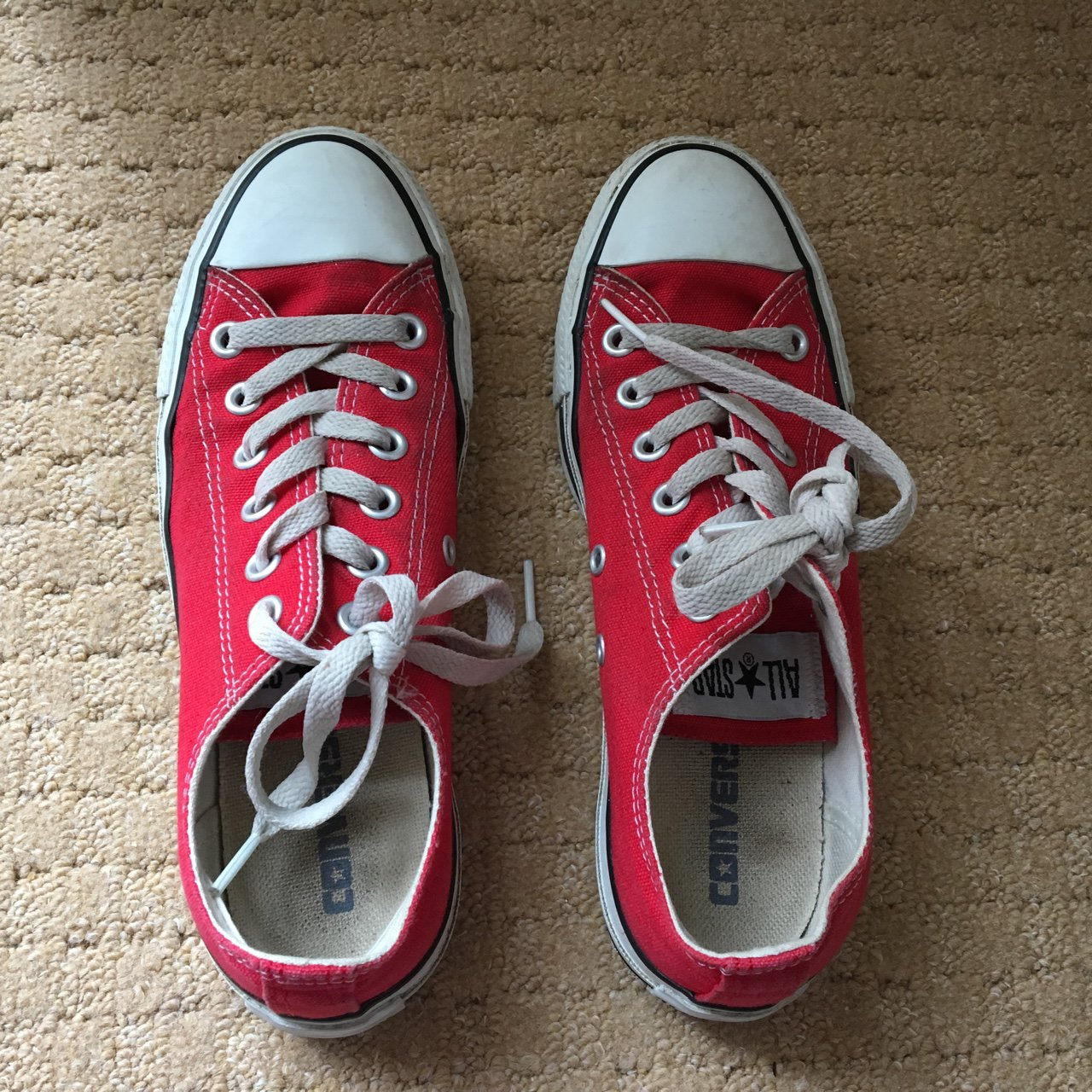 Red converse all star Good condition 91c364df2