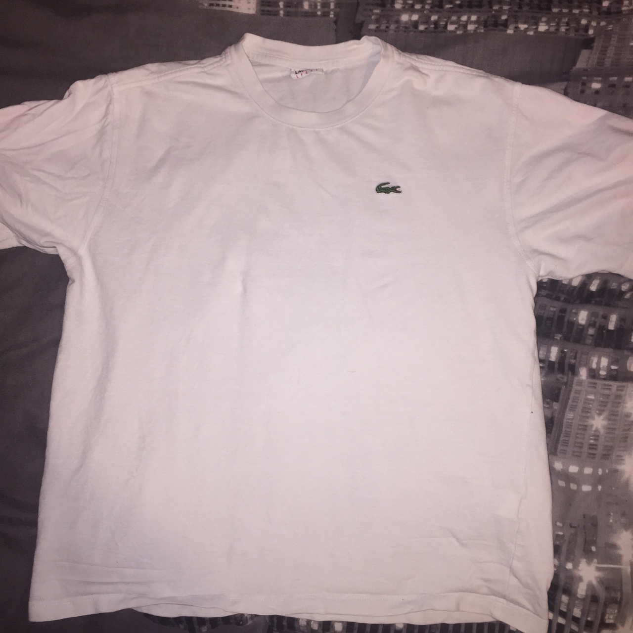 biggest discount arrives really comfortable Lacoste Sport white t-shirt Lacoste size 5 (UK... - Depop