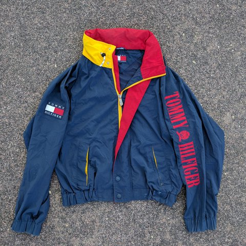 9a5b57e2d @elseware. 2 years ago. Mankato, Blue Earth County, United States. Vintage  90s Tommy Hilfiger windbreaker ...
