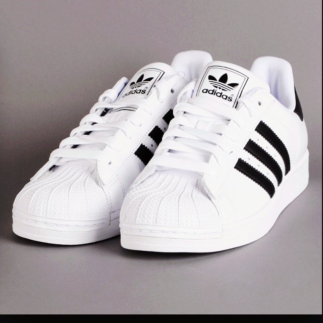 adidas bianche a righe nere