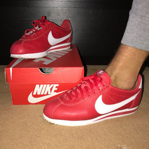 premium selection 1ee20 8ff15  reece291208. 2 years ago. London, UK. Nike Cortez Red Leather