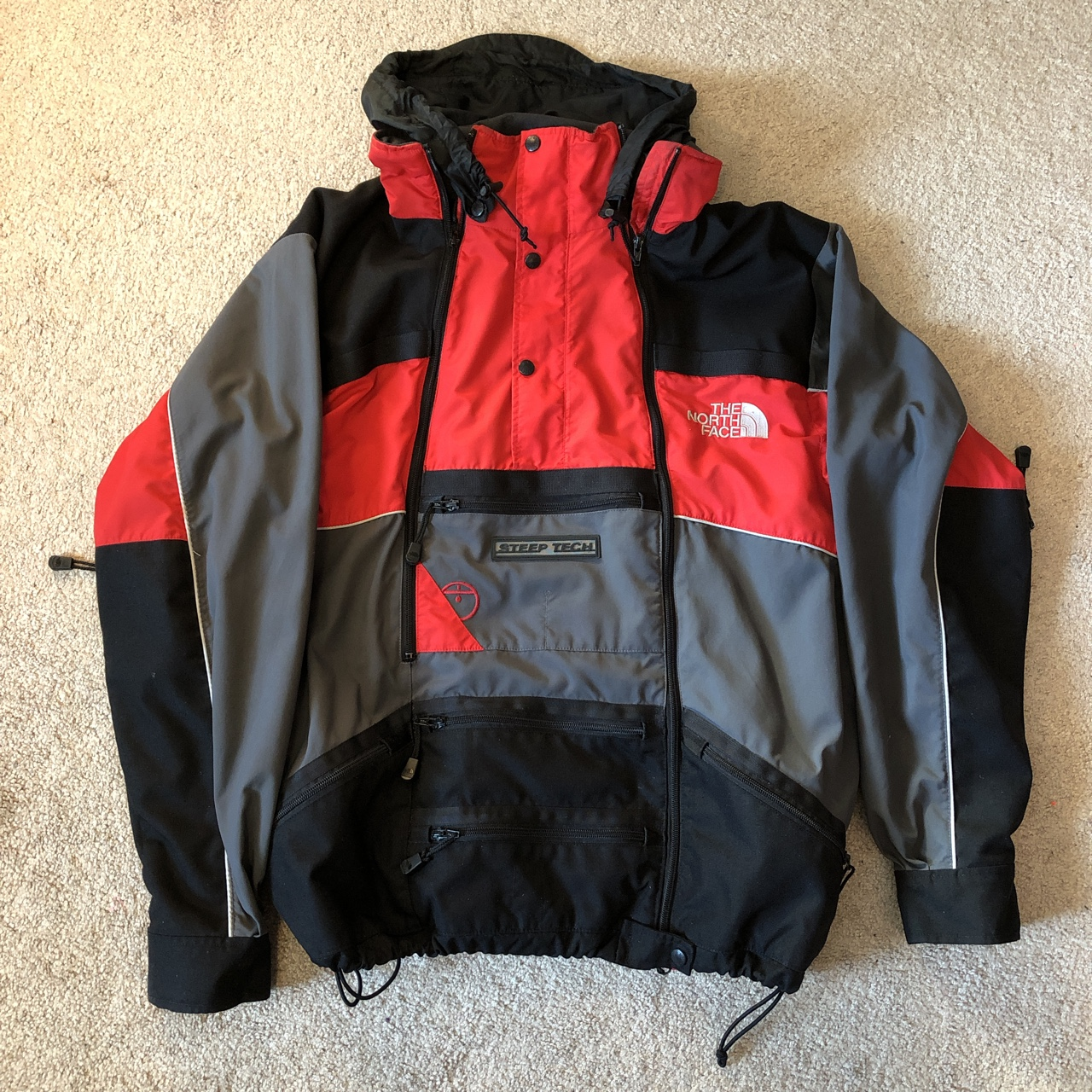 784567602 Vintage The North Face Steep Tech Work Shell Jacket... - Depop