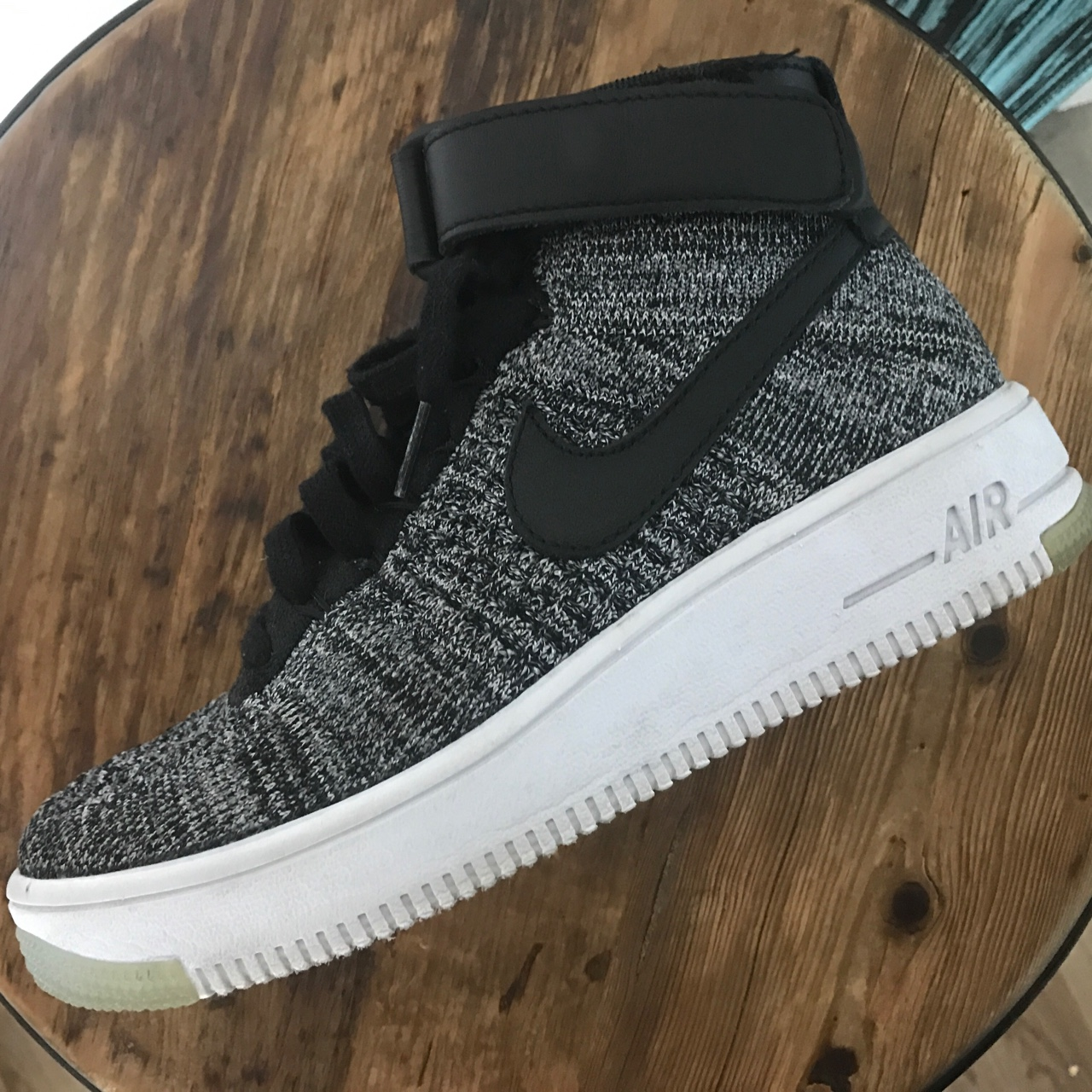 sneakers for cheap 6558f b4941 Nike Air Force 1 Ultra Flyknit high tops. Just do... - Depop