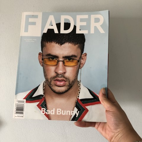 d2cfbdb2 Fader Bad Bunny / Phoebe Bridgers fall 2018 issue ( Feat And - Depop