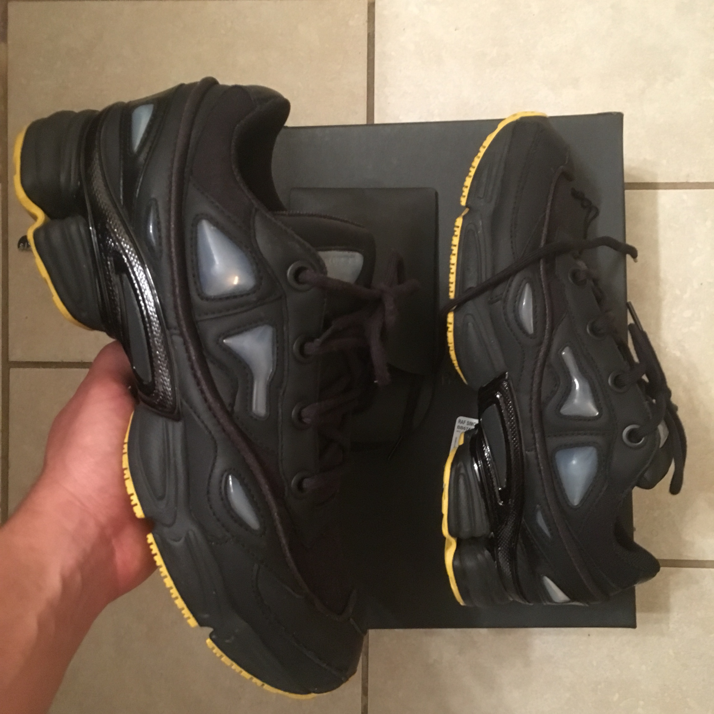 Didnt like how they fit Ozweego 3 Size 10 Worn... - Depop