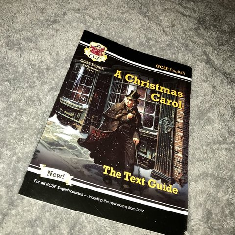 Christmas Carol Text Guide.Listed On Depop By Abirichardson00