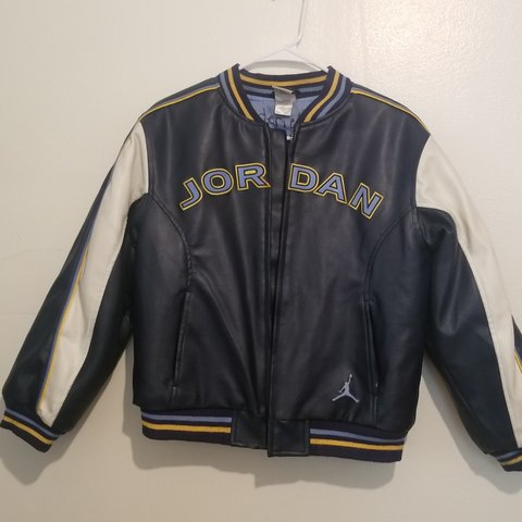 248f32551441 Vintage Michael Jordan North Carolina Jacket       PRICE in - Depop