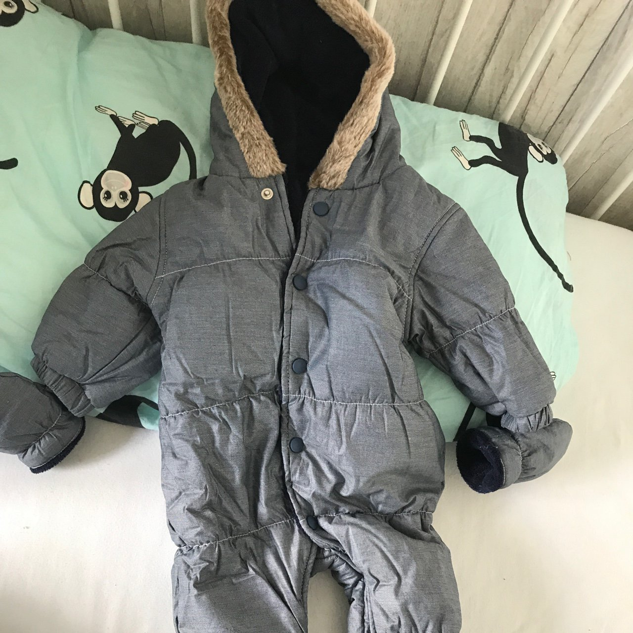 e55fe9630df7 Next snow suit new without tags (sorry for the rubbish pic) - Depop