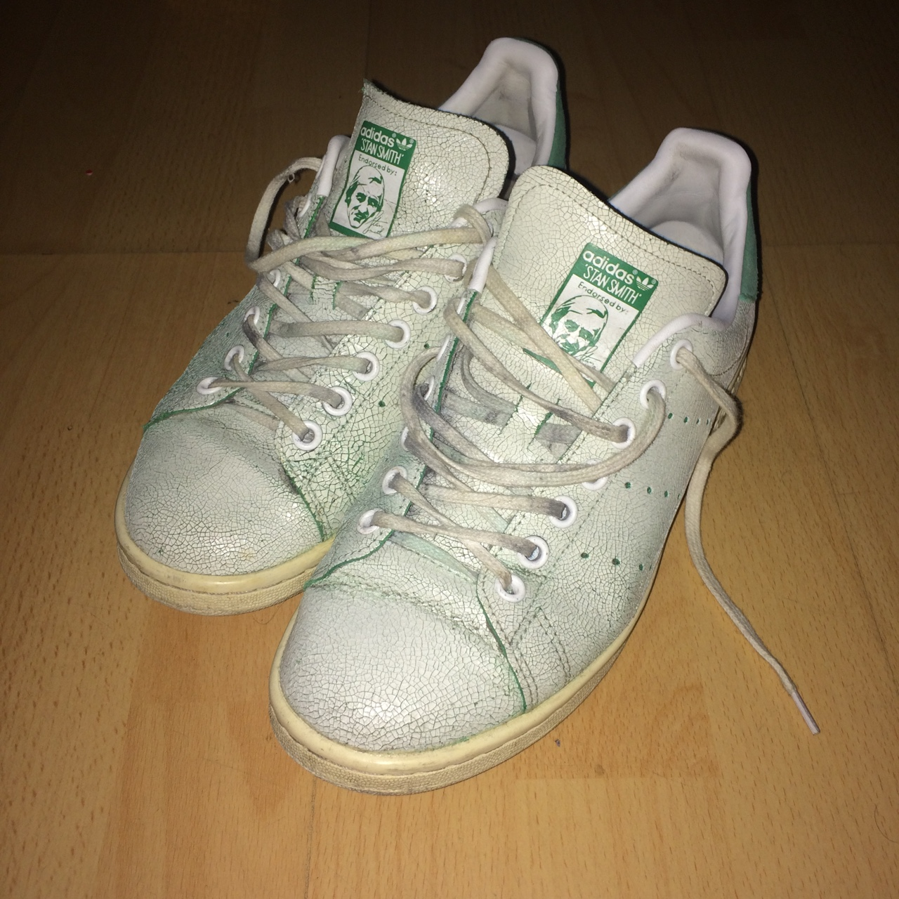 finest selection 051f0 f9ca6 Adidas Stan smith green UK 6 7/10 #supreme - Depop