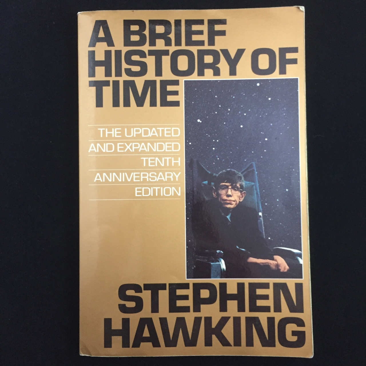 A Brief History Of Time By Stephen Hawking Depop