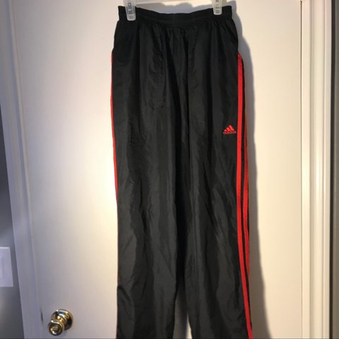 79c0f74c2013 Vintage Men s Adidas Climaproof track pants. Tags says small - Depop
