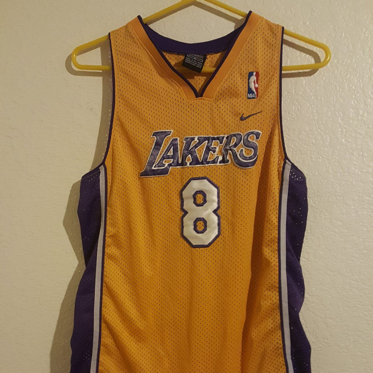 For Sale is a Vintage Nike Los Angeles Lakers Jersey Kobe in - Depop 86a3e5c39