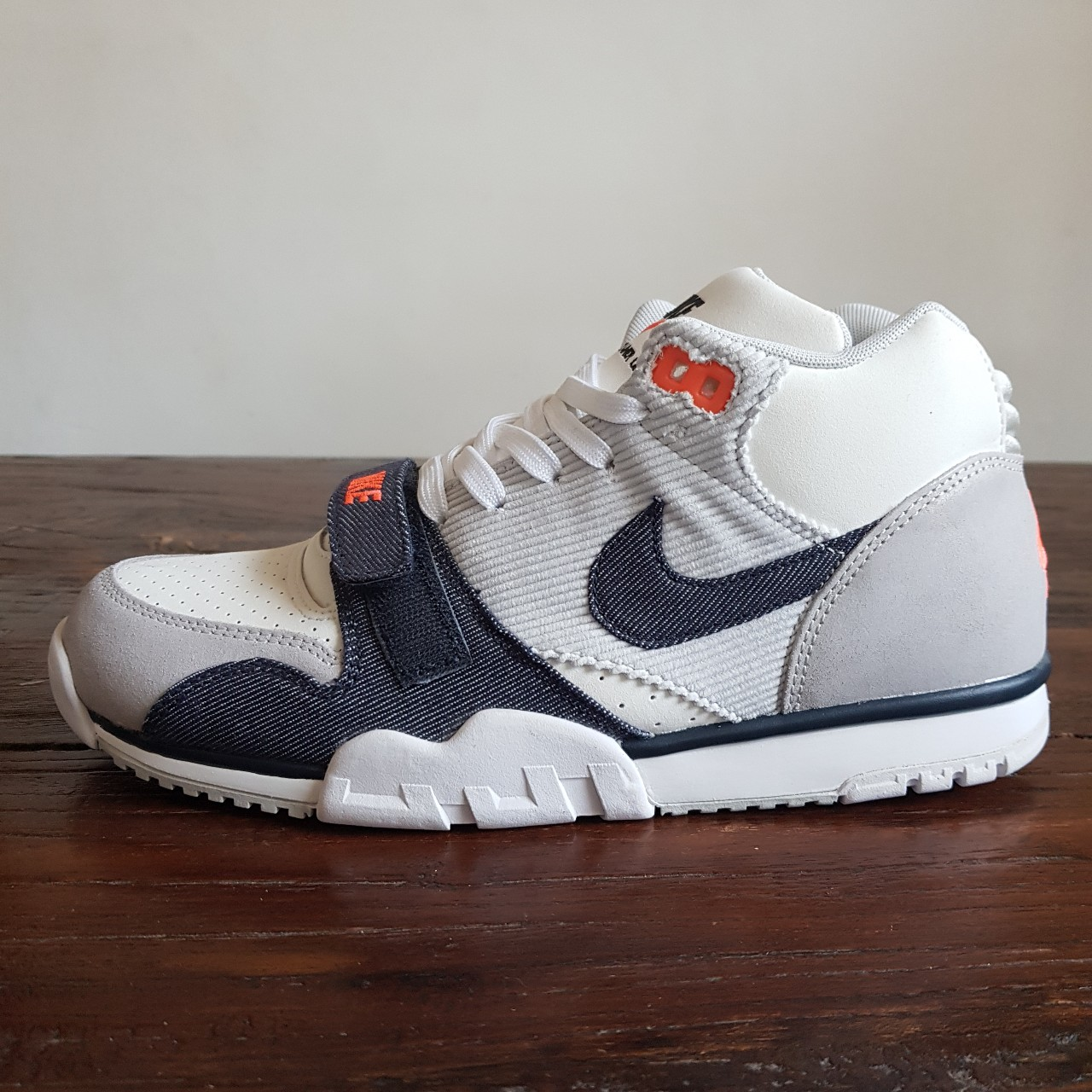 Mid Air Trainer Jackson'sOriginal Bo 1 Nike Denim Depop Pw8n0Ok