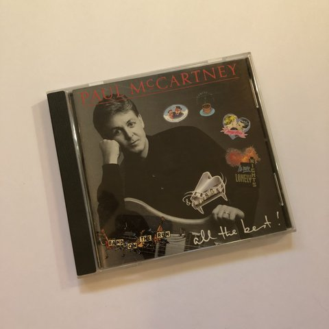 Paul McCartney All The Best Cd No Scratches