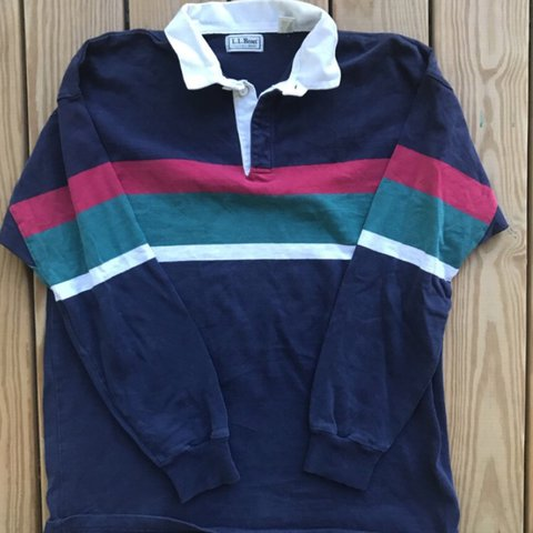 e45bc147 sick vintage LL BEAN rugby made in usa on some gucci gang - Depop
