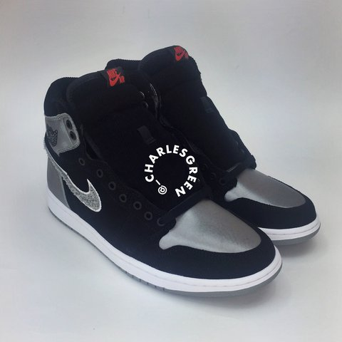 ab2dc52e952a2f Name  Jordan 1 Aleali May Retro Shadow Size   7 (Grade   New - Depop