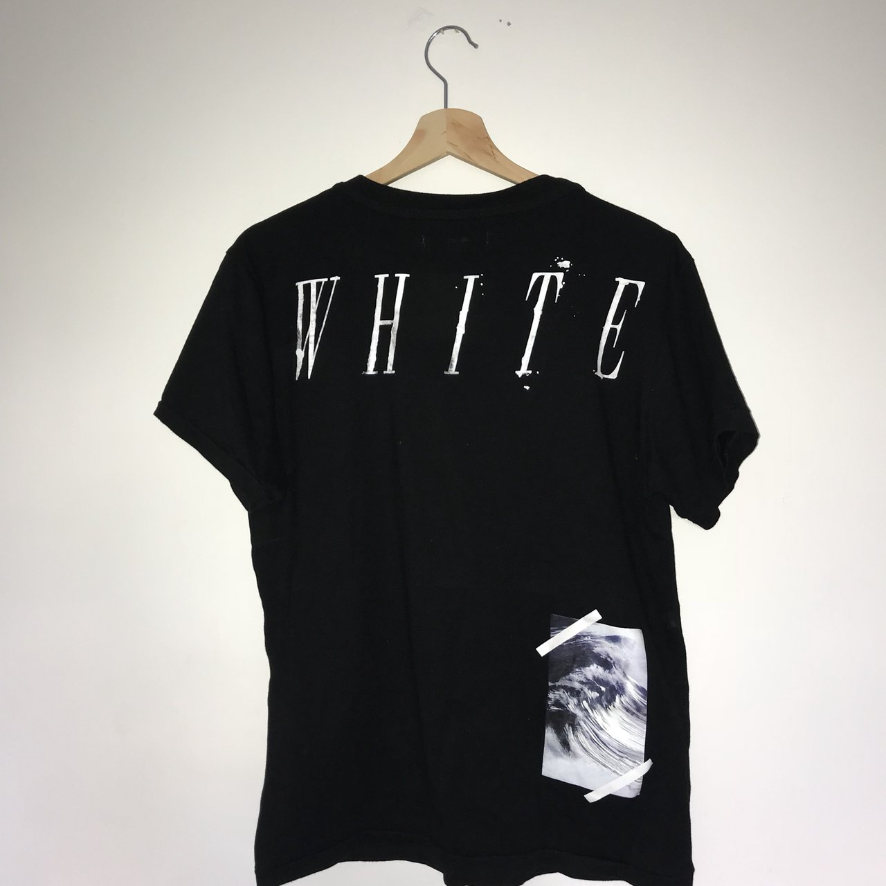 Off white tee for sale 🔥 Fits like a big s or small m I - Depop 9a5002418733