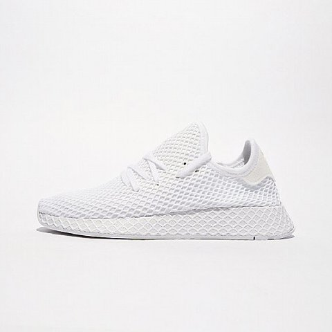 54fff50db Adidas Deerupt Trainers - Triple White. Size 9. Will Ship - Depop